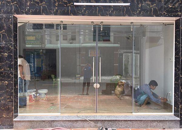 Dịch vụ cung cấp lắp đặt cửa kính quận Hoàng Mai