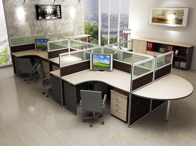 Dịch vụ cung cấp và thi công vách kính văn phòng huyện Ba Vì